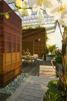 Terrassen » Dachterrasse Gestalten U2013 Stadtoase Mit Wasserspielen In Miami  #dachterrasse #gestalten #miami