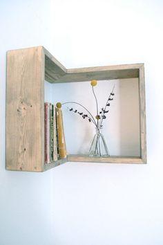 Corner Box Shelf by The807 on Etsy