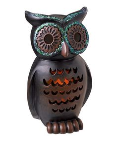 Small Black Magic LED Owl