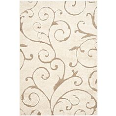 LOVE! Beautiful area rug  setting.http://www.overstock.com/Home-Garden/Hand-woven-Ultimate-Cream-Beige-Shag-Rug-53-x-76/5665181/product.html?CID=214117 $131.74