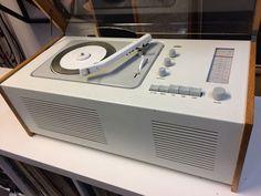 A restored 1950s Dieter Rams-designed Braun SK4 audio system on eBay