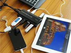 The Unitek USB 3.0 Hub has 6 USB 3.0 ports with built-in surge protection + 2 super-fast charging port for charging your mobile devices including iPads. getdatgadget.com/unitek-usb-3-0-hub-usb-hub-youll-need/
