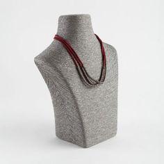 Grey Rattan Short Necklace Stand mm) - The Display Centre Bracelet Holders, Necklace Holder, Diy Necklace, Ring Holder Wedding, Wedding Rings, Jewellery Displays, Watch Holder, Sea Glass Necklace, Bangles