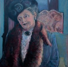 Lady Grantham Dowager Countess by  Caroline Kaye (UK)