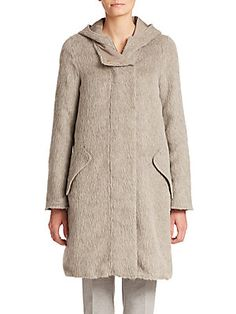 Max Mara Arles City Reversible Alpaca Coat