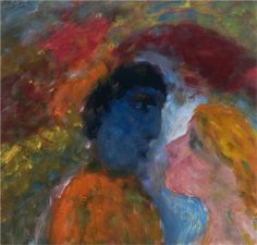 De dichter en zijn muze - Eugene Brands