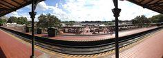 Main Street Railroad Station - Panorama