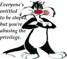 Everyones entitled to be stupid