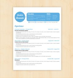 resume template cover letter template cv template wbusiness card template modern resume w skills word document template a4 us letter
