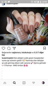 (notitle) - Ceren İnce - # İnce (notitle) – Ceren İnce – the to Essence Gel Nail Polish, Nail Polish Colors, Pretty Nail Colors, Pretty Nails, Uñas Diy, Sally Hansen, Cosmetic Design, Dream Nails, Beautiful Nail Designs