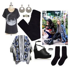 """""""Hirari Ikeda - moon"""" by perpetto ❤ liked on Polyvore featuring Givenchy, Shibuya, Hansel from Basel, AG Adriano Goldschmied, Carole Shashona and Rachel Entwistle"""
