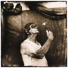 Des vieilles photos de cirque qui ne donnent pas envie de rire [Cirque Clowns Collection insolite Peur Photo]