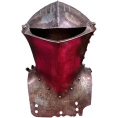 Pictured is the most iconic representation of Armor in the joust the Stechhelm. This particular Great helm dates back to the 19th century in my