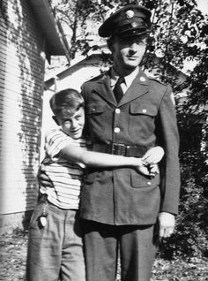 James and his father Winston