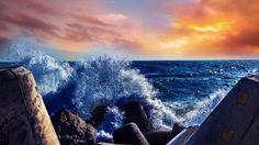 Blue sea!!!
