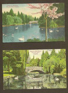 Beacon Hill Park Victoria British Columbia by TheOldBarnDoor, $4.00