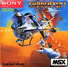 Choplifter by Sony for MSX.