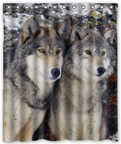 Happy Shopping Go Custom Wolf Partner Waterproof Bathroom Fabric Shower Curtain 60 x 72 >>> Want additional info? Click on the image. Note:It is Affiliate Link to Amazon.