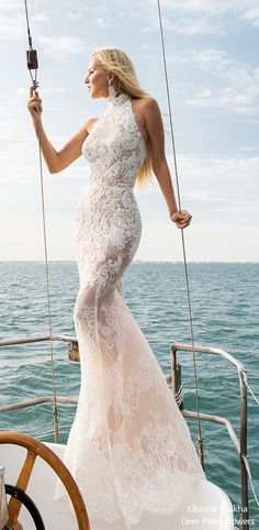 Oksana Mukha 2018 Wedding Dresses / http://www.deerpearlflowers.com/oksana-mukha-wedding-dresses-2018-2/2/
