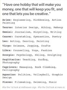 Seems accurate. Scorpio here. I've taken AP Psych and loved Pottery. Always wanted to try skiing.