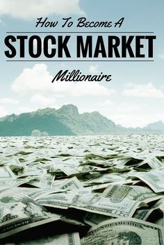 So you want to know how to become a stock market millionaire? It's much easier than you think. - Money Smart Guides www.moneysmartgui...
