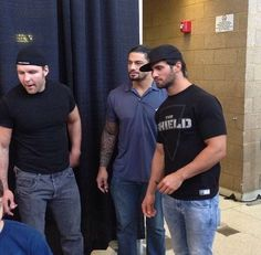 The Shield  damn they look hot in them blue jeans