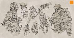 Cyborg Development by fightpunch on DeviantArt
