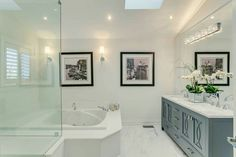 #interior design #modern bathrooms