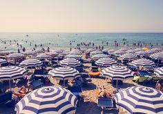 Direct Analogy. Or an umbrella on an Italian beach.