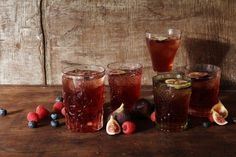 Mixed Berry and Fig Old Fashioned | 23 Delicious Ways To Drink Whiskey Tonight