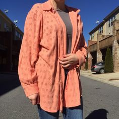 Coral Cardigan Cotton, very comfortable, and roomy if you wear a size medium Sweaters Cardigans