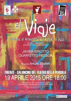 News di Spaghetti italiani - 19/04 ore 18.00 - Firenze - Saloncino del Teatro della Pergola - el Viaje con Javier Girotto e il Quartetto Pessoa