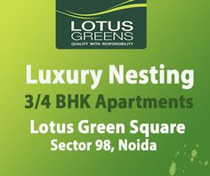 Lotus Square Residencies in the heart of Noida. The project offers Premium Office Spaces, Luxury Residences in Noida .