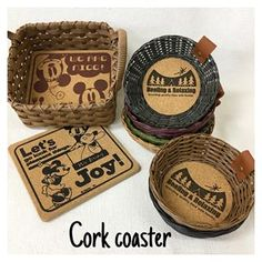 Paper Pop, Cork Coasters, Instagram
