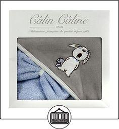 Câlin Câline Sortie de Bain Charles Taupe et Ciel  ✿ Regalos para recién nacidos - Bebes ✿ ▬► Ver oferta: http://comprar.io/goto/B00I9678ZW