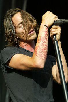 brandon boyd of incubuis it bad that i want his arm tattoo?... Omani padme hum