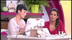 La nuova tutor Emanuela Tonioni cuce una lampada frou-frou - Detto fatto...