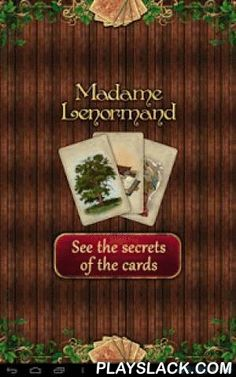 Tarot Madame Lenormand  Android App - playslack.com , The cards of Madame Lenormand, the best card fortune teller of all time, are now available!Madame Lenormand was a French fortune teller and personal adviser during the Napoleonic era, servicing many famous people, including Napoleon and Josephine -- and now she can advise you too!This special deck is different than any fortune telling cards you've seen before! The detailed interpretations of the cards will reveal to you important guides…