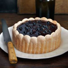 For our blackcurrant Charlotte recipe, and other great recipes, visit Red Online. French Dessert Recipes, French Recipes, Dinner Party Desserts, Vegetable Nutrition, Fruit Recipes, Party Recipes, Summer Recipes, Recipies, French Food