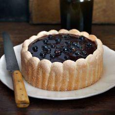 Fabulously French: French Food Friday...Raymond Blancs Blackcurrant Charlotte