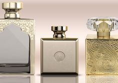 Metallization&laser Feel the texture! Perfume bottles Dekorglass production. Elegant and high class. Gold imitation bottles produced for Arabic countries