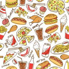 Food & Drink by Ohn Mar Win, via Behance