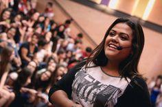 Sonhos: Camila Loures deu algumas dicas na Oficina do Estudante