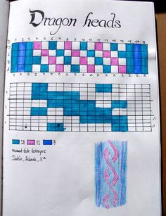 I love the way this pattern book is kept. I need to get all of mine together like this.
