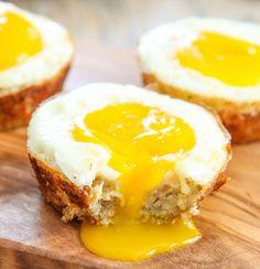 Cauliflower Hash Egg Cups Recipe on Yummly