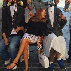 ~ROME~ #globalchampiontour  My new headless friends!!!