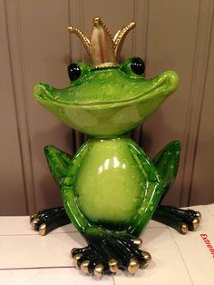 Ceramic Frog Prince