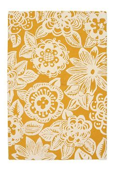 Yellow floral pattern - Anthro