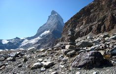 the goal: Hiking the Haute Route: Inn-to-inn and hut-to-hut hiking tours from Chamonix, France, to Zermatt, Switzerland | Ryder-Walker