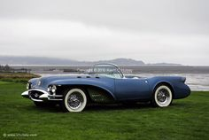 The 1950s were the BEST years for Car Design.Gorgeous!!!!! 1954 Buick Wildcat II Concept Car.